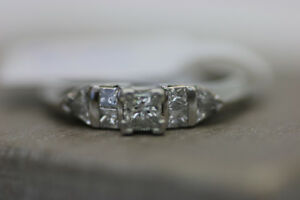 **BEN MOSS** Platinum Diamond  Engagement Ring (#16582)