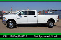 2014 RAM 3500 SLT DUALLY CREW LONGBOX 4X4 - ONLY 65KMS!!!