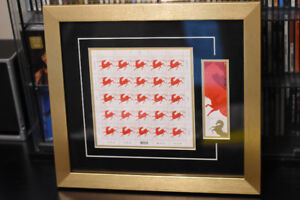 Canada Post Year of the Horse/Monkey framed stamp