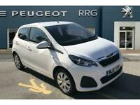2018 Peugeot 108 1.0 Active 5dr Petrol white Manual