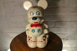 Mickey & Minnie Mouse Cookie Jar