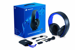 Sony Wireless Gold Stereo Headset