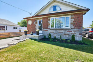 Just Listed! Beautiful All Brick Bungaloft On A Quiet Street.