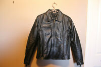 REDUCED LADIES  Leather Motorcycle Jacket NEW
