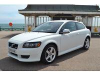 Volvo C30 1.6 2010 R-Design, 105K MILES, FULL VOLVO S/HISTORY, NEW MOT, 2 OWNER