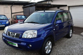 Nissan X-Trail 2.2dCi SVE 5 DOOR 2005MY+BLUE+TOP SPEC