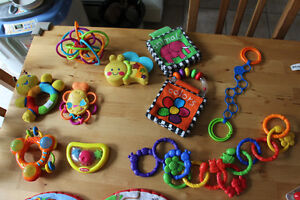 Lot 1 of Baby Toys Gender Neutral all in great shape as shown