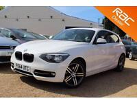2014 64 BMW 1 SERIES 2.0 116D SPORT 3D AUTO 114 BHP DIESEL