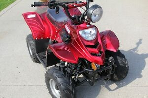 "TRADE NEW 110cc Youth ATV 4 NEW set of 19"" Tires Installed"