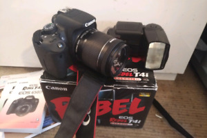 Cannon Rebel 4ti with lens/flash/16GB SD/bag/box Free Delivery!