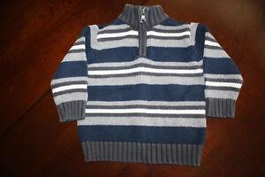 Half Zip Sweater- 12 months