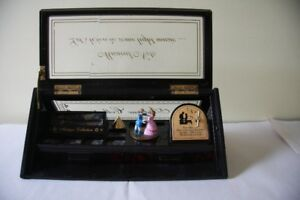 VINTAGE ANTIQUE COLLECTION JEWELLERY MUSICAL BOX