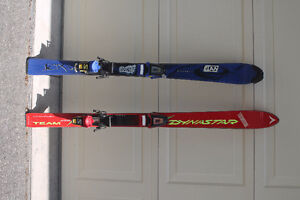 Boots, poles, skis