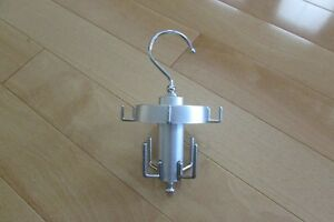 hanging swivel jewelry holder