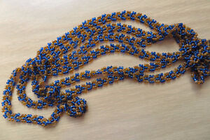 Indigenous bead necklace