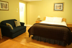 Furnished Studio Apartment Downtown! Available now!