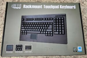 New ADESSO Rackmount Touchpad Keyboard