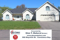 Exclusive Waterfront Offering, 2200 sq ft Bungalow