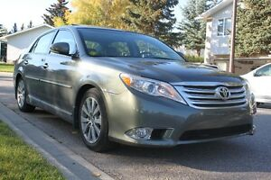 2011 Toyota Avalon Limited with low mileage