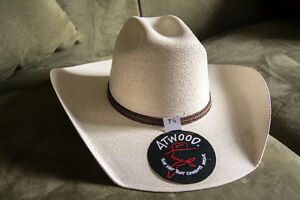 Brand New Atwood Cowboy Hat size 7 1/8