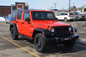 2016 Jeep Wrangler unlimited willys VUS