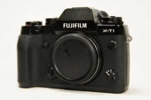 Fuji XT1 xt-1 16mp mirrorless camera