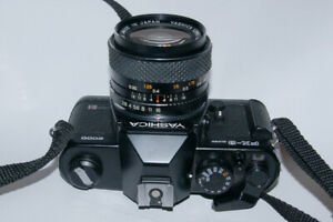Yashica film Camera>>>>>More Canon Nikon Pentax with lens