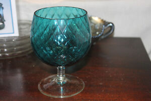 Vintage Glass Candy / Peanut Bowl or use as a dip server