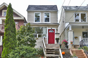 Sun Filled Newly Renovated Detached Home In Leslieville!