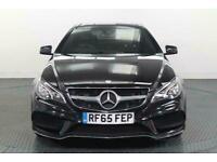 2015 Mercedes-Benz E Class 2.1 E220 CDI BlueTEC AMG Line (Premium) Coupe 2dr Die