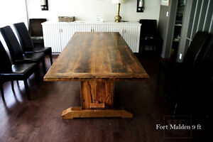 Barnwood Tables - Heavy-Duty / Refined