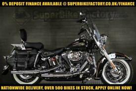 2013 13 HARLEY-DAVIDSON SOFTAIL HERITAGE FLSTC 110TH 1690CC 0% DEPOSIT FINANCE A