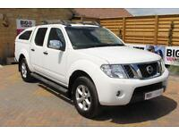 2014 NISSAN NAVARA DCI 190 TEKNA CONNECT 4X4 DOUBLE CAB WITH SPORT TRUCKMAN TOP