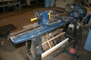 Lathe and chisels