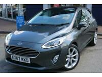 2017 Ford Fiesta 1.0 T EcoBoost (Petrol) with Start/Stop Titanium 3dr 6Spd 100PS
