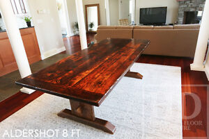 Reclaimed Wood Tables - Locally Created