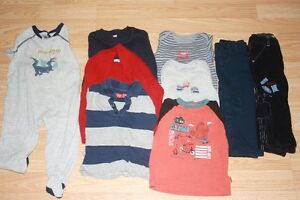 Clothes from France and London for boys
