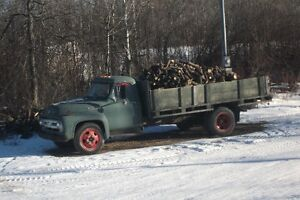 1953 ford f-600 flat deck 20',,,,,trade for car trailer ???