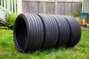 R19 Summer Tires for Less! Like-New + Ultra High Performance