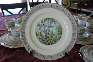 For Sale, Royal Albert 'Silver Birch' China