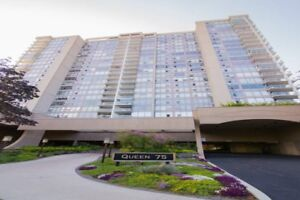 Spacious condo in much sought after Queen 75 Building