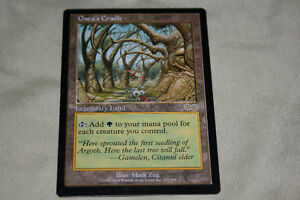 mtg magic the gathering card Gaea's Cradle Kitchener / Waterloo Kitchener Area image 1