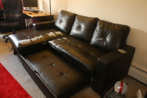 Moving sale - Sectional sofas, folding table, Wardrobe Cabinet