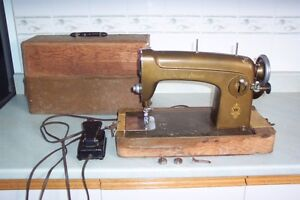 Free Westinghouse Sewing Machine with Cabinet Case 1172260-A
