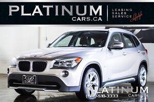2012 BMW X1 xDrive28i/ LEATHER/ SUNROOF/ CANADIAN/ 17INC ALLOY
