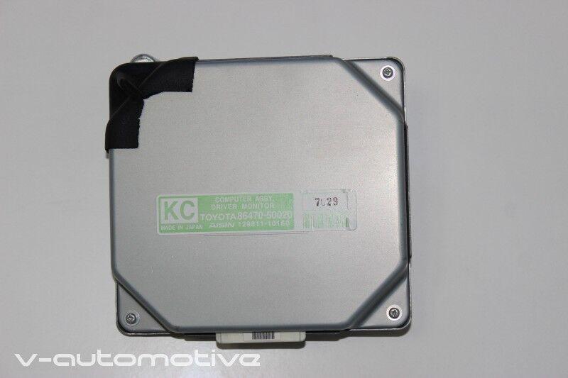 2007 LEXUS LS 460 600H / DRIVER MONITOR COMPUTER 86470-50020