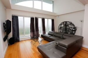 PENTHOUSE TOP FLOOR CONDO FULLY FURNISHED MONTHLY