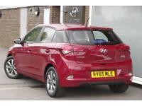 2016 Hyundai i20 1.4 SE (100 PS) Petrol red Manual