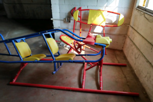 Child playground/airplane