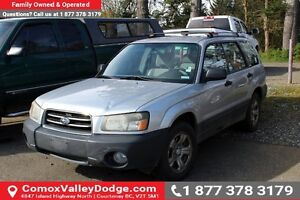 2003 Subaru Forester X VALUE PRICED & SAFETY INSPECTION AVAIL...